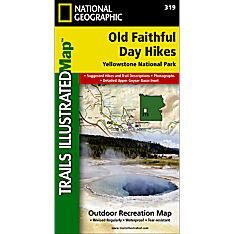 319 Old Faithful Day Hikes Trail Map