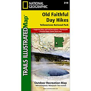 View 319 Old Faithful Day Hikes Trail Map image