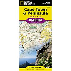 Cape Town & Peninsula Adventure Map, 2007