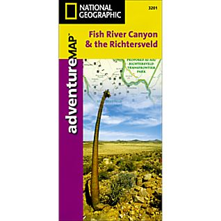 National Geographic Fish River, South Africa & the Richtersveld Adventure Map