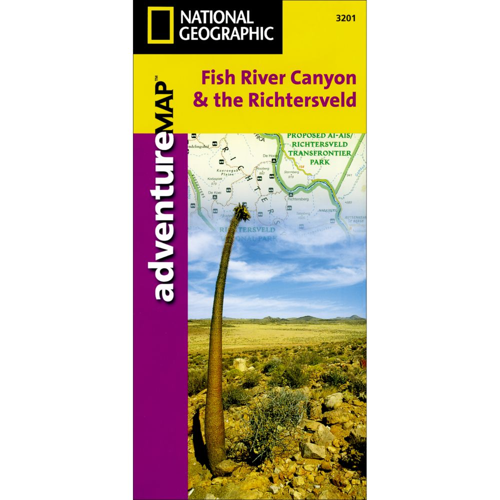 photo: National Geographic Fish River, South Africa & the Richtersveld Adventure Map international paper map