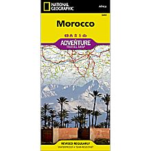 Morocco Adventure Map, 2011