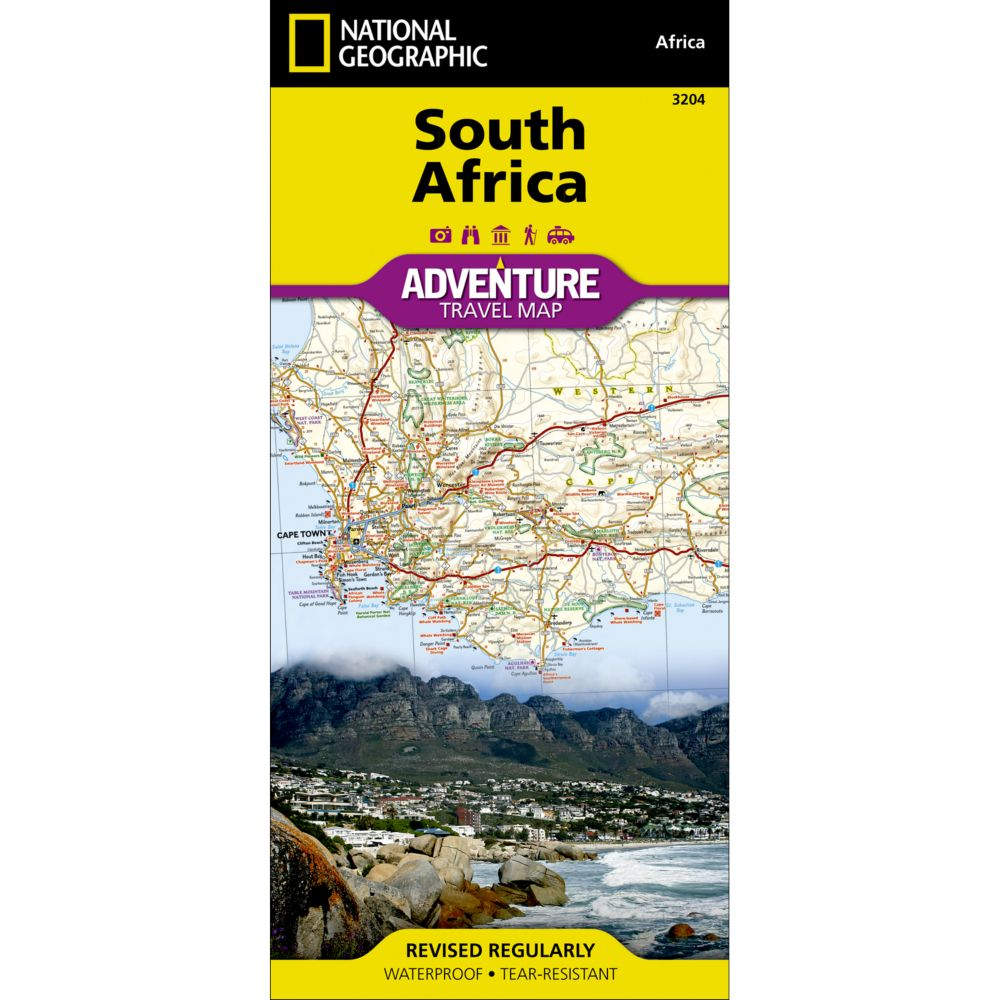 photo: National Geographic South Africa Adventure Map