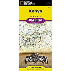 Kenya Adventure Map, 2012