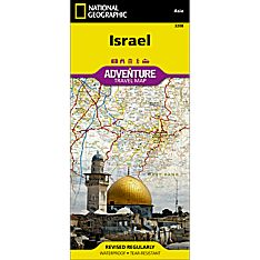 Israel Adventure Map, 2012