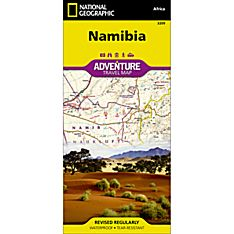 Namibia Adventure Map