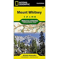 322 Mount Whitney Trail Map, 2013