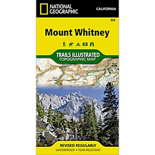 322 Mount Whitney Trail Map