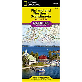 National Geographic Finland and Northern Scandinavia Adventure Map