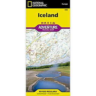 photo: National Geographic Iceland Adventure Map international paper map