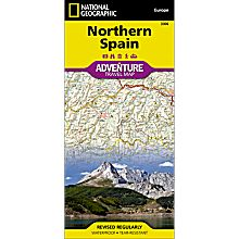 Northern Spain Adventure Map, 2011