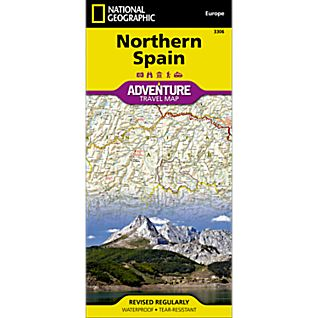 photo: National Geographic Northern Spain Adventure Map international paper map