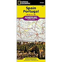 Map of Spain Portugal