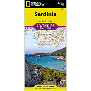 photo: National Geographic Sardinia Adventure Map
