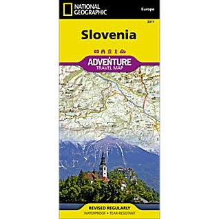National Geographic Slovenia Adventure Map
