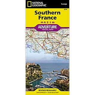 View Southern France Adventure Map image