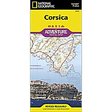 Corsica Adventure Map