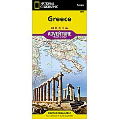 Greece Adventure Map, 2012