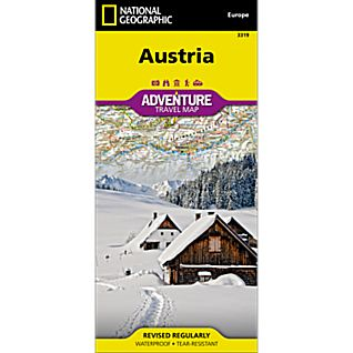 National Geographic Austria Adventure Map