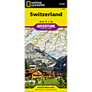National Geographic Switzerland Adventure Map