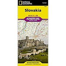 Slovakia Adventure Map