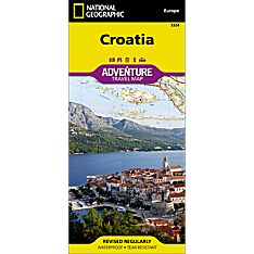 Croatia Adventure Map, 2013
