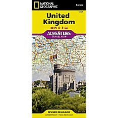 Great Britain Adventure Map, 2013