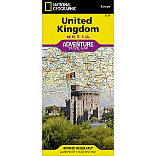 United Kingdom Adventure Map