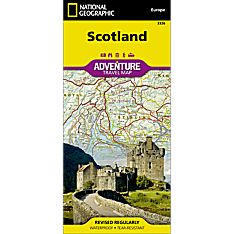 Scotland Adventure Map, 2013