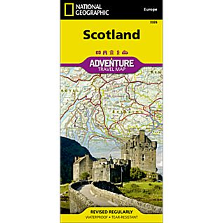Scotland Adventure Map