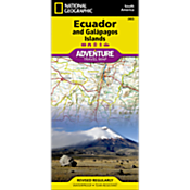 Ecuador and Galapagos Adventure Map
