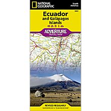 Ecuador and Galapagos Adventure Map, 2011