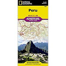 Peru Adventure Map, 2011