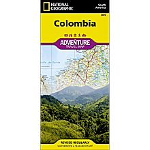 Colombia Adventure Map, 2012