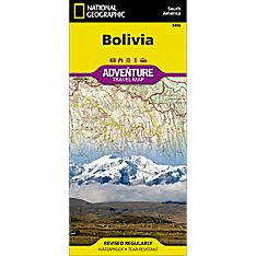 Bolivia Adventure Map, 2012