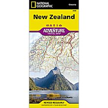 New Zealand Adventure Map
