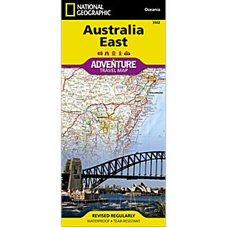 photo: National Geographic Australia East Adventure Map