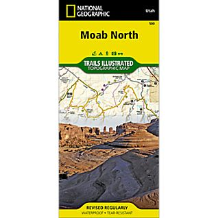 500 Moab North Trail Map