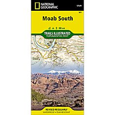 501 Moab Area Trail Hiking Map