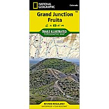 502 Grand Junction / Fruita Trail Map