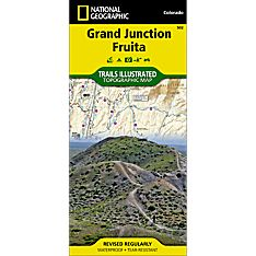502 Grand Junction / Fruita Trail Map, 2009