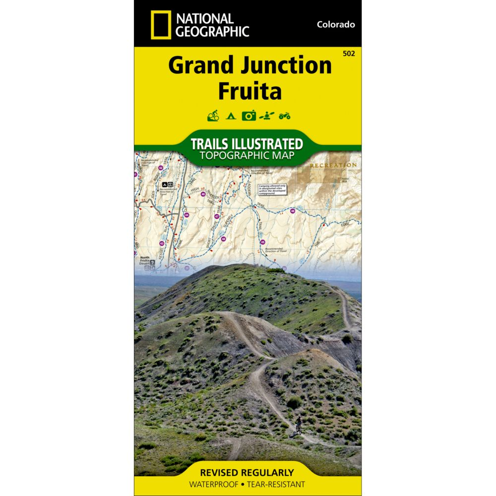 National Geographic Grand Junction/Fruita Trail Map