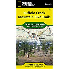 503 Buffalo Creek Mountain Bike Trails Map