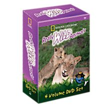 Really Wild Animals 4 DVD Set