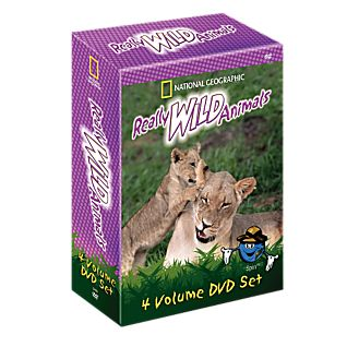 View Really Wild Animals 4 DVD Set image