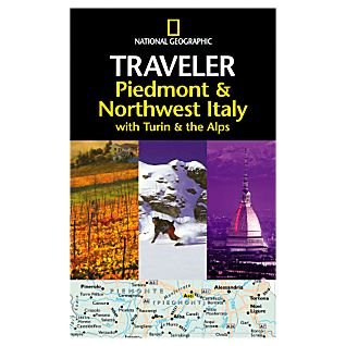 National Geographic Traveler Piedmont & Northwest Italy, with Turin & the Alps