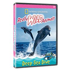 Really Wild Animals: Deep Sea Dive DVD, Ages 4-10