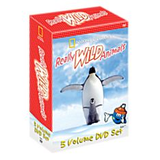 Really Wild Animals 5 DVD Set