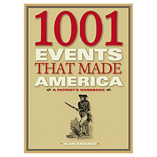 1001 Events that Made America - Hardcover