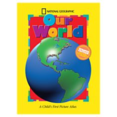 Colored Map of the World for Kids